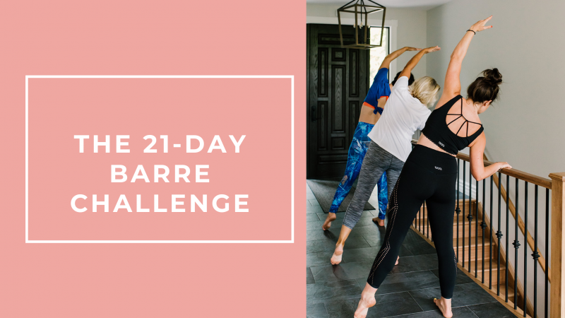 The 21-Day Barre Challenge