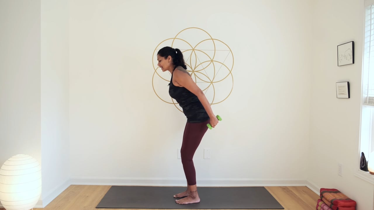 Stretch and Strengthen Shoulders and Arms